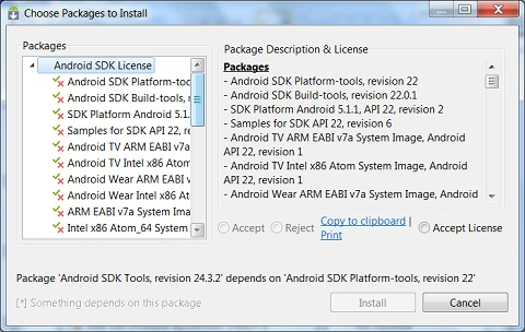 Installing Android Platform 4 0 3 and Libraries