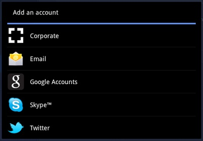 how to set up multiple gmail accounts on android tablet