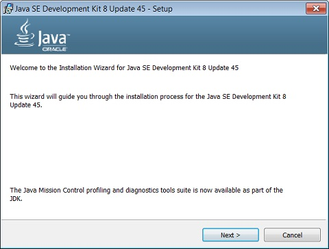 Downloading and Installing JDK 1 8