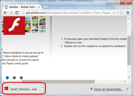 Installing Adobe Flash Player Plugin for Chrome