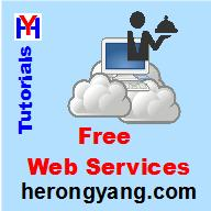 Free Web Services - Herong's Tutorial Examples