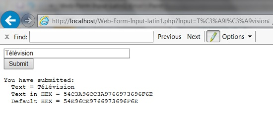 Processing Web Form Input in Latin1 Encoding Error