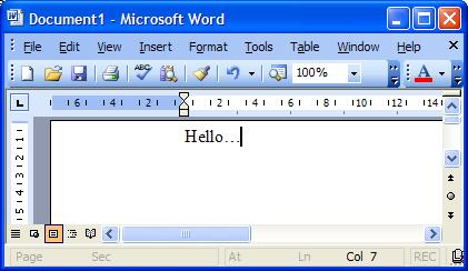 micorsoft word