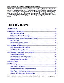 PDF Printing Version: Web Service Tutorials