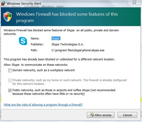 windows 7 private network