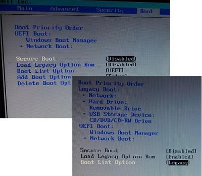 Windows 8: Modify UEFI Boot Order in BIOS