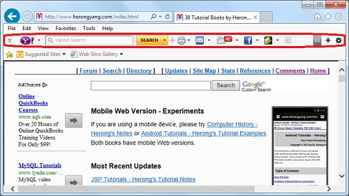 windows search yahoo for how to change